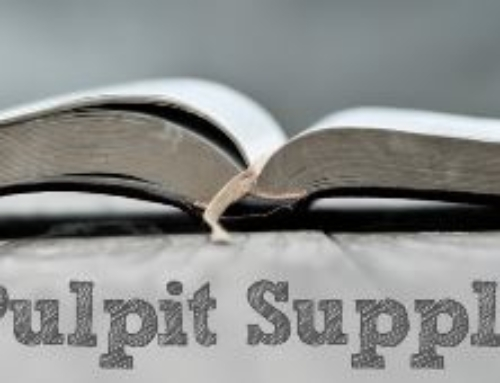 March Pulpit Supply