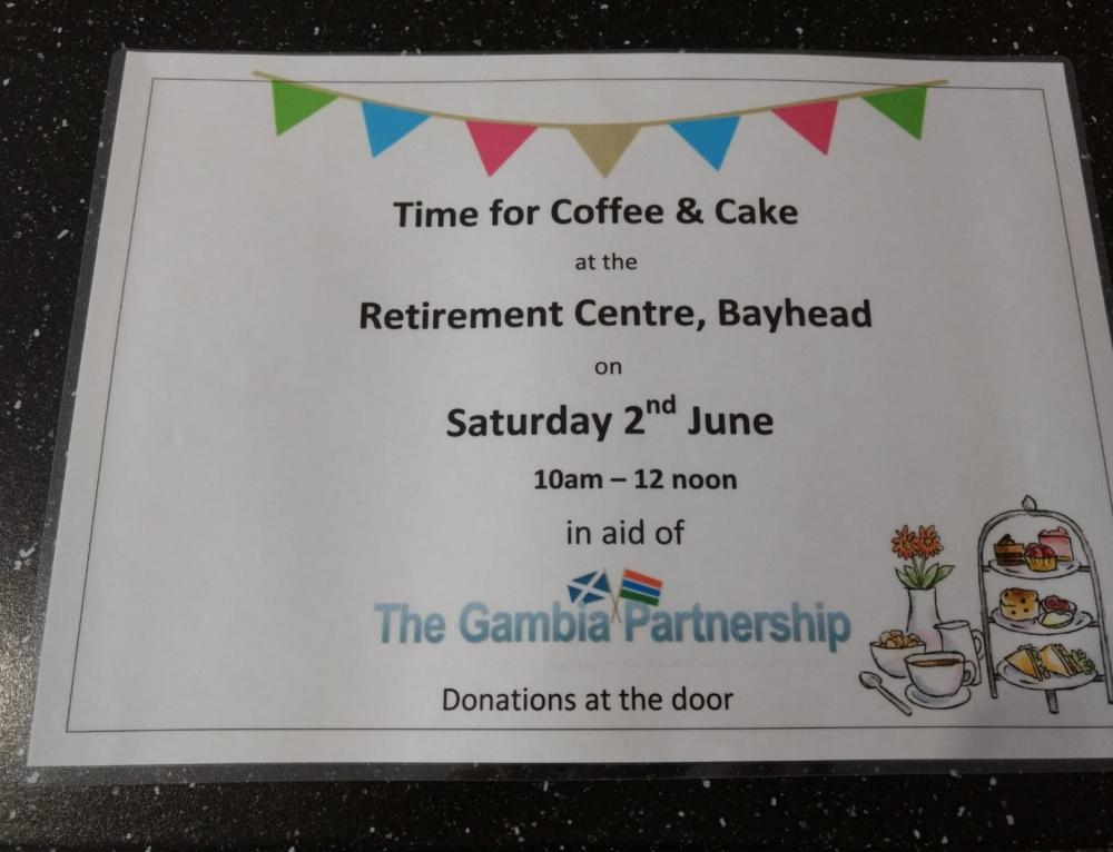 The Gambia Partnership – Coffee Morning